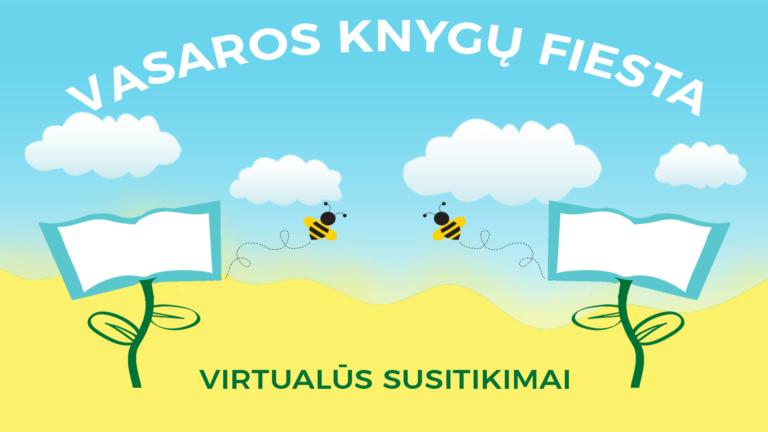 """Bibliotekos renginių ciklo """"Vasaros knygų fiesta"""" vizuali užsklanda"""