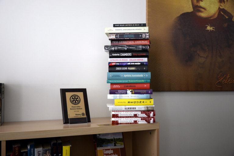 Bibliotekai dovanotos knygos