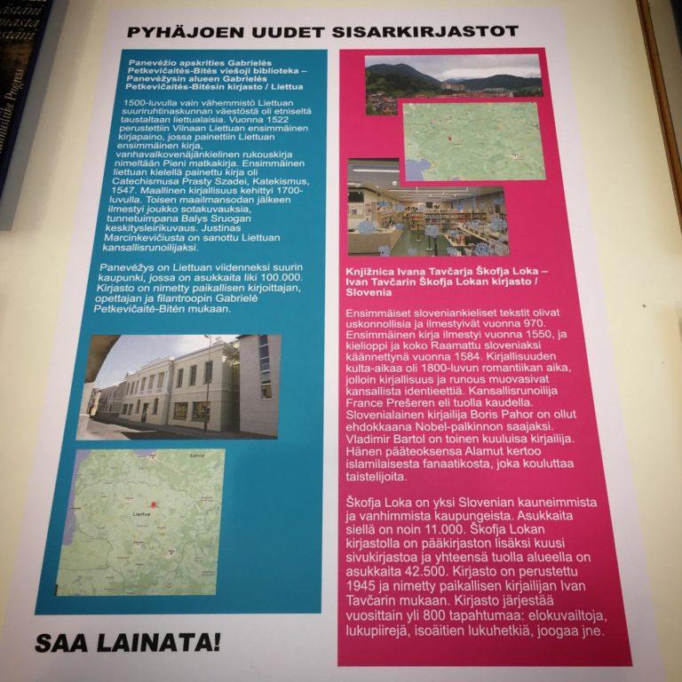 leidiniu paroda Suomijos bibliotekoje 1