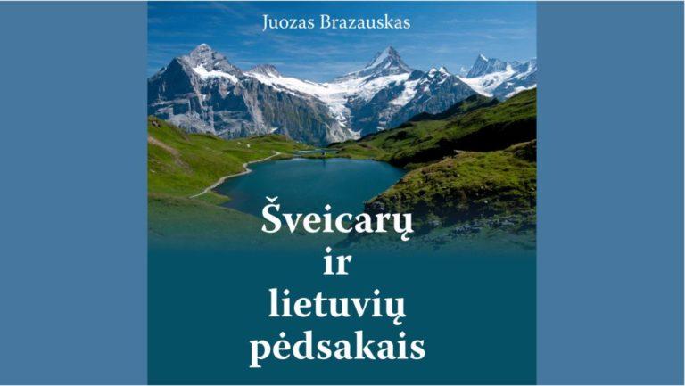 """Knygos """"Šveicarų ir lietuvių pėdsakais"""" viršelis"""