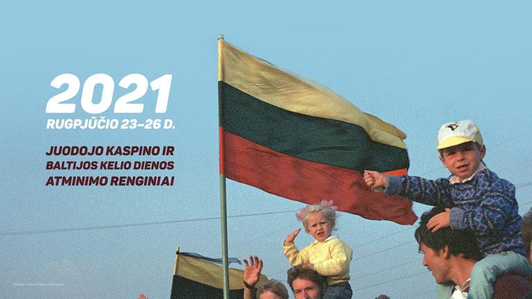 Juodojo kaspino ir Baltijos kelio dienos atminimo renginių viršelis