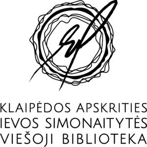 Klaipėdos apskrities Ievos Simonaitytės viešosios bibliotekos logotipas