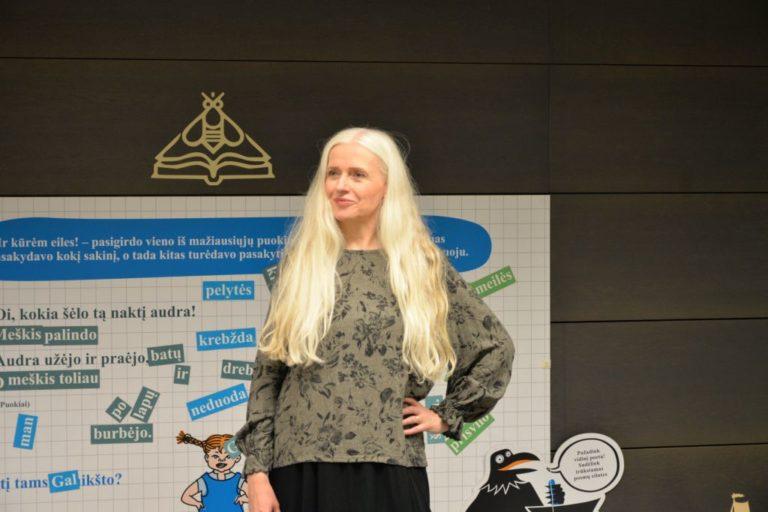 Rašytoja ir iliustratorė Kristín Ragna Gunnarsdóttir
