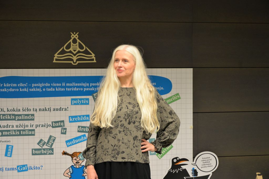 "Renowned Icelandic writer and illustrator Kristín Ragna Gunnarsdóttir: ""The world would be much better if everyone read more children's books"""