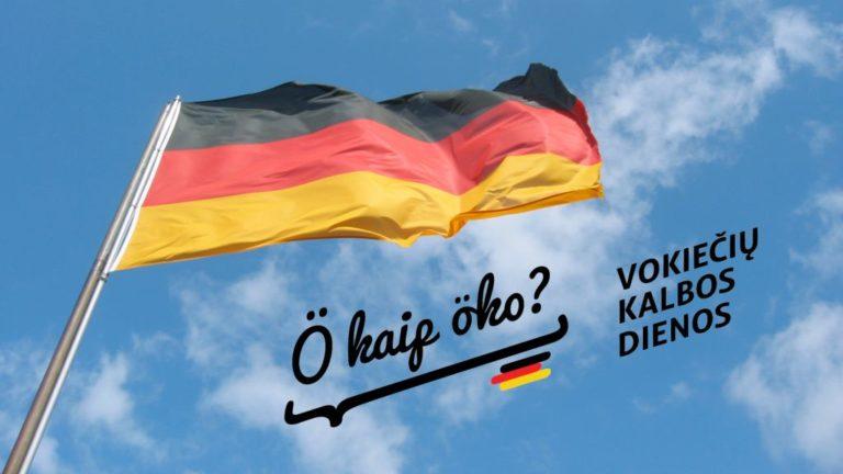 Vokiečių kalbos dienos, plakatas